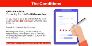 JONO ARMSTRONG PROFIT GUARATEE CONDITIONS